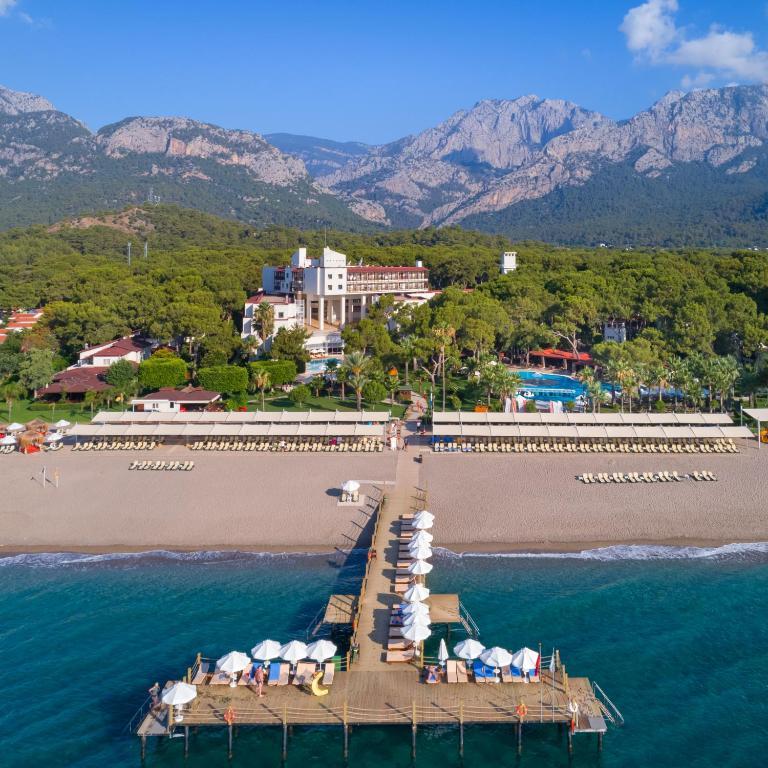 Великолепный отель 5* в Кемере с концепцией идеального семейного отдыха! Турция с вылетом из Саратова!