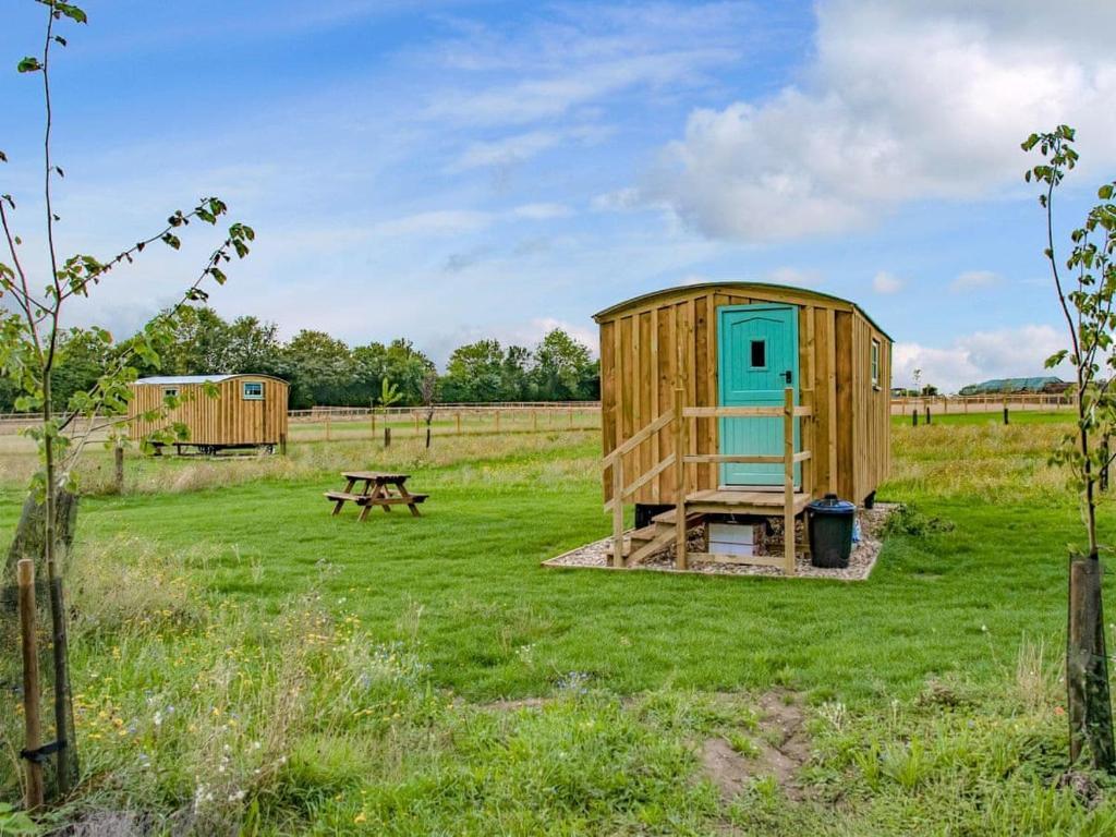 A garden outside Hut 3-UK11305