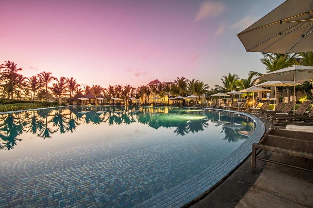 The swimming pool at or near Hard Rock Hotel & Casino Punta Cana - All Inclusive