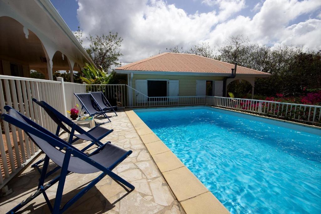 Villa Cattleya: 4ch, piscine et grande terrasse couverte, Le Vauclin ...