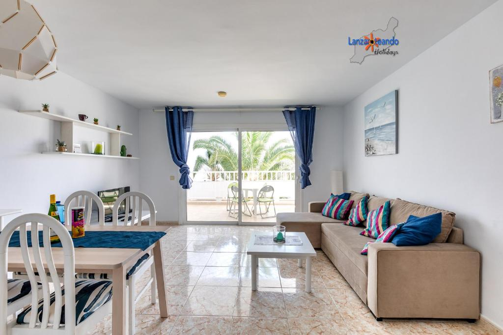 Zona de estar de Rose apartment