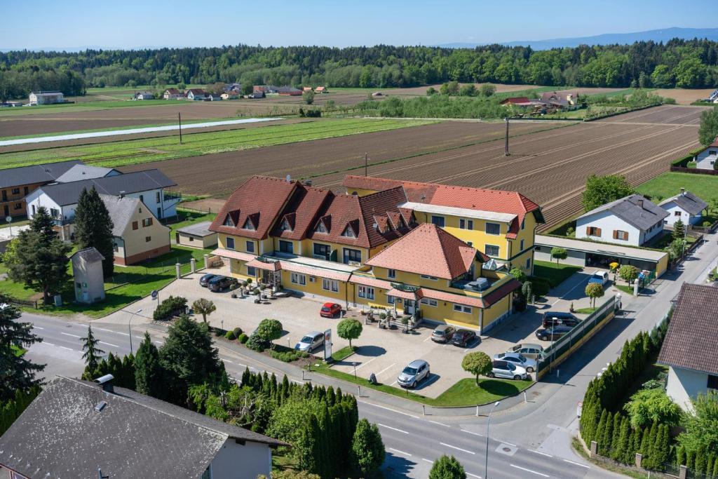 Hotel Restaurant Schachenwald 항공뷰