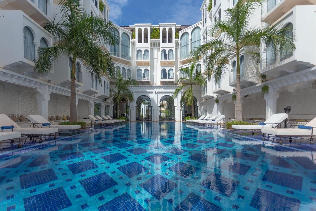 The swimming pool at or near Sarai Resort & Spa