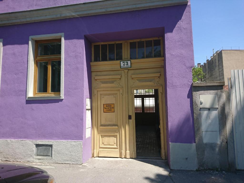 The facade or entrance of Penthouse Kaisermühlen