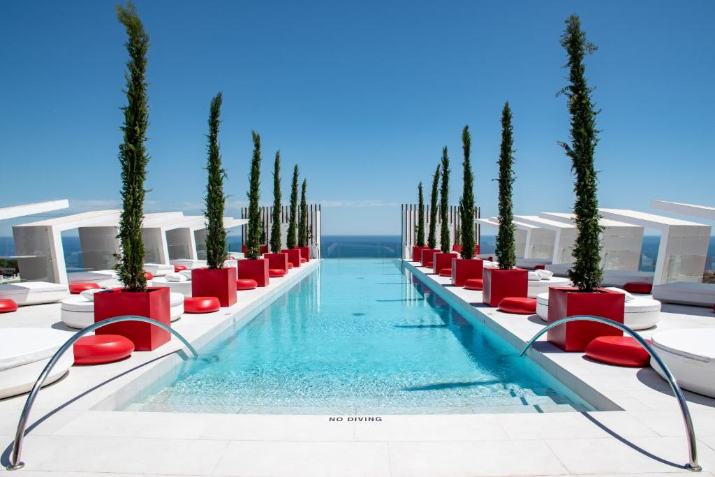 The swimming pool at or close to Higueron Hotel Malaga, Curio Collection by Hilton