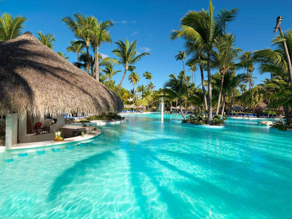 The swimming pool at or near Meliá Caribe Beach Resort-All Inclusive
