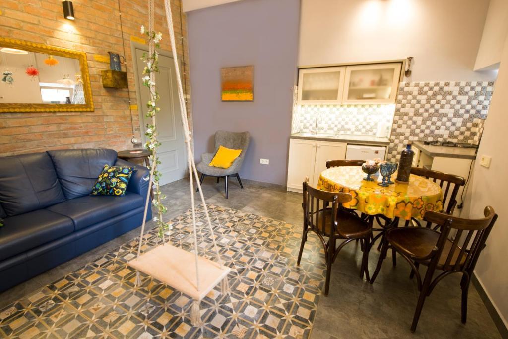Гостиная зона в Sofia Apartment in old Tbilisi