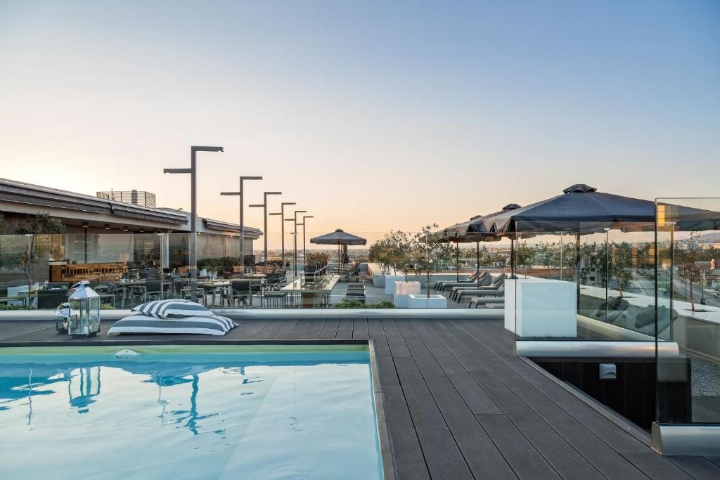 The swimming pool at or near Porto Palace Hotel Thessaloniki