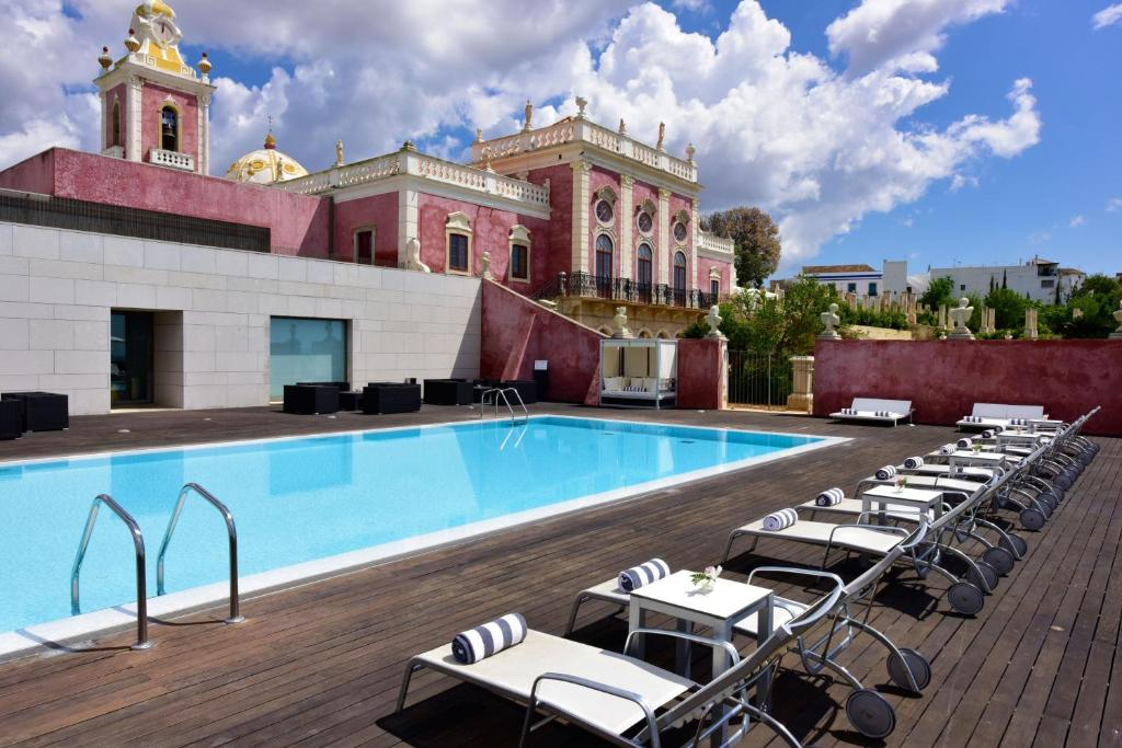 The swimming pool at or near Pousada Palacio de Estoi – Small Luxury Hotels of the World