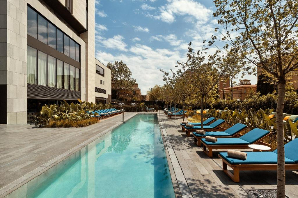 The swimming pool at or near Hotel Sofia Barcelona - in The Unbound Collection by Hyatt