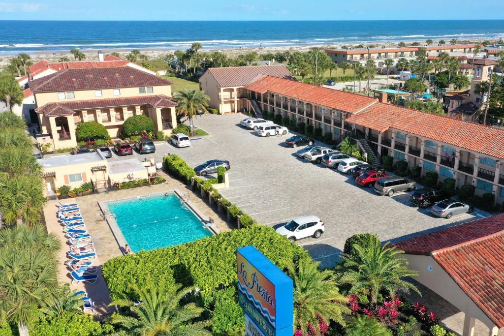 A bird's-eye view of La Fiesta Ocean Inn & Suites