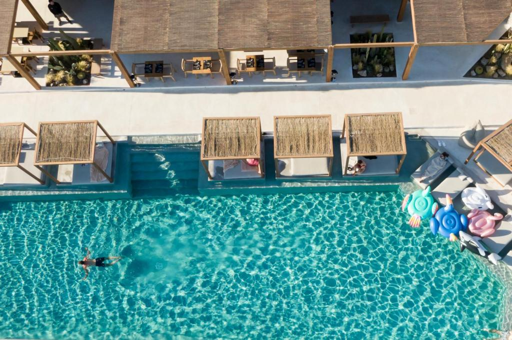 The swimming pool at or near Rocabella Mykonos Hotel