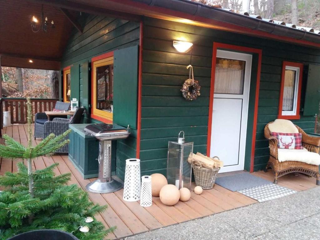 Ferienhaus Tiny House Im Bergwald Am Fluss 121179 Deutschland