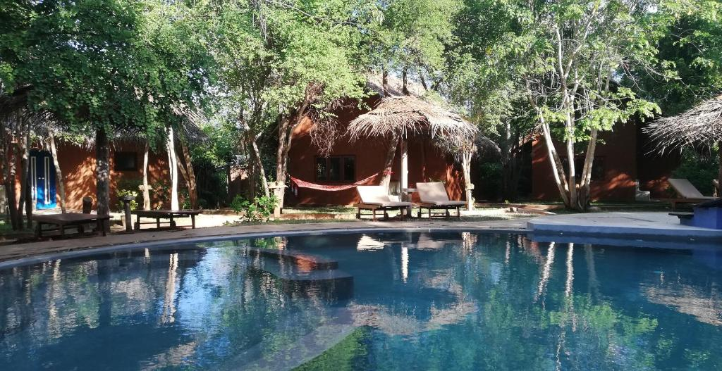 The swimming pool at or near Kuwera Eco Lodge