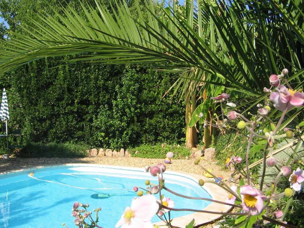 The swimming pool at or close to Chambres d'Hôtes Béziers