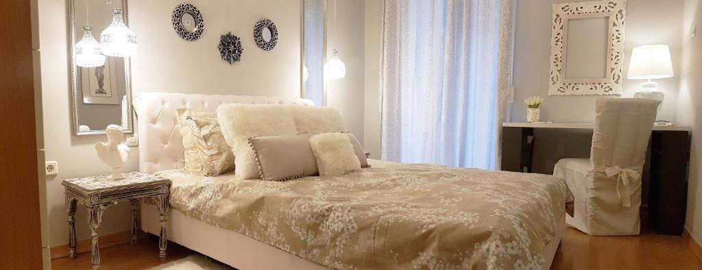 Apollo Suiteにあるベッド