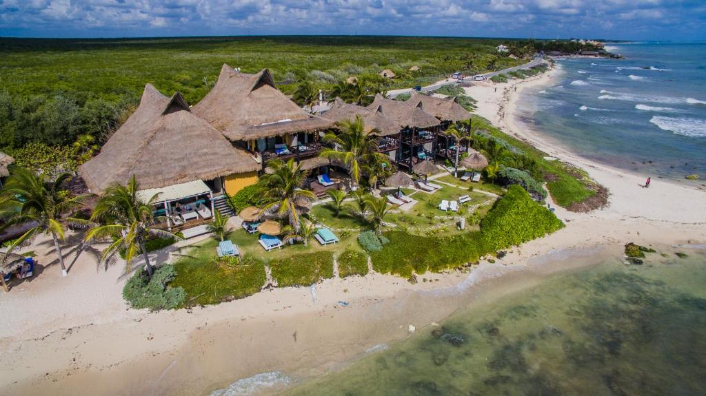 A bird's-eye view of El Pez a Colibri Boutique Hotel