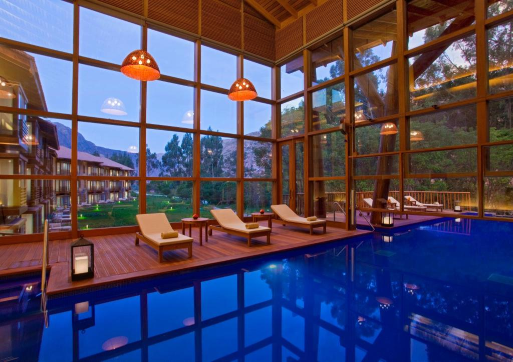 The swimming pool at or close to Tambo del Inka, a Luxury Collection Resort & Spa