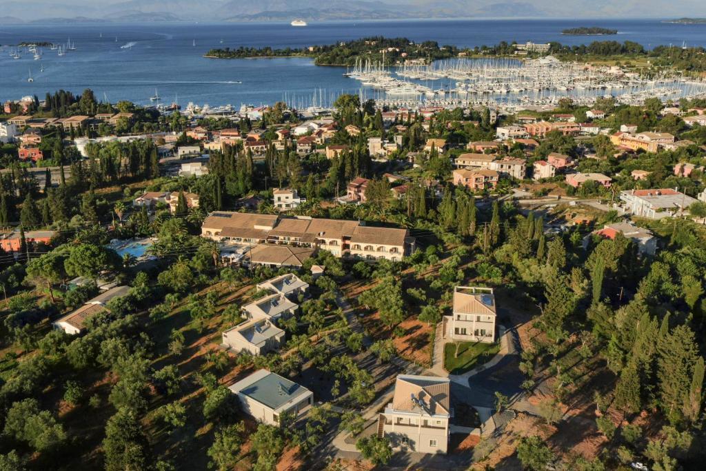 A bird's-eye view of Art Hotel Debono