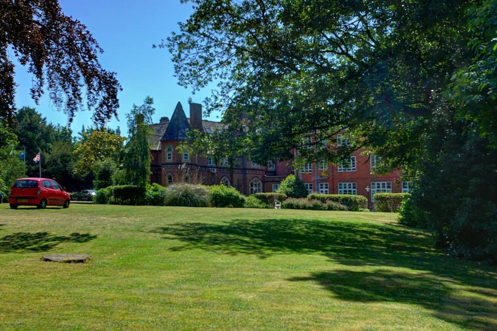 A garden outside Best Western Abbots Barton Hotel