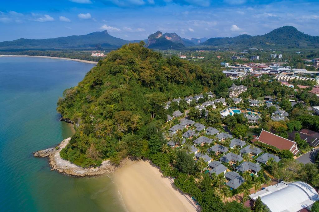 A bird's-eye view of Krabi Resort