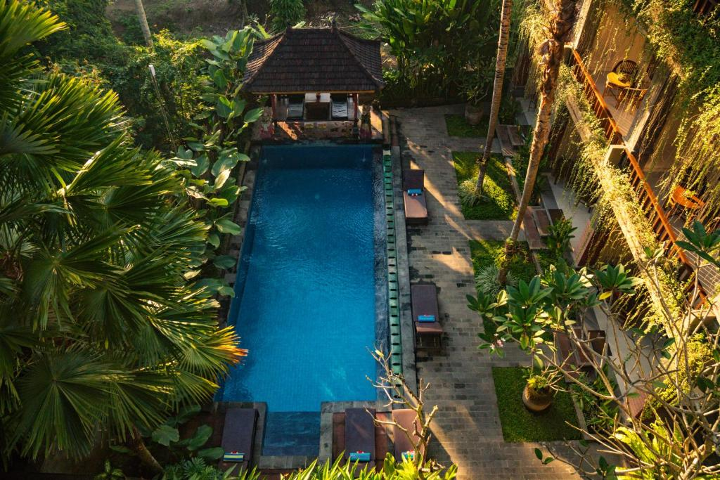 A view of the pool at Alam Terrace Cottages or nearby
