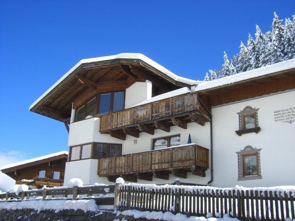 Haus Binder during the winter