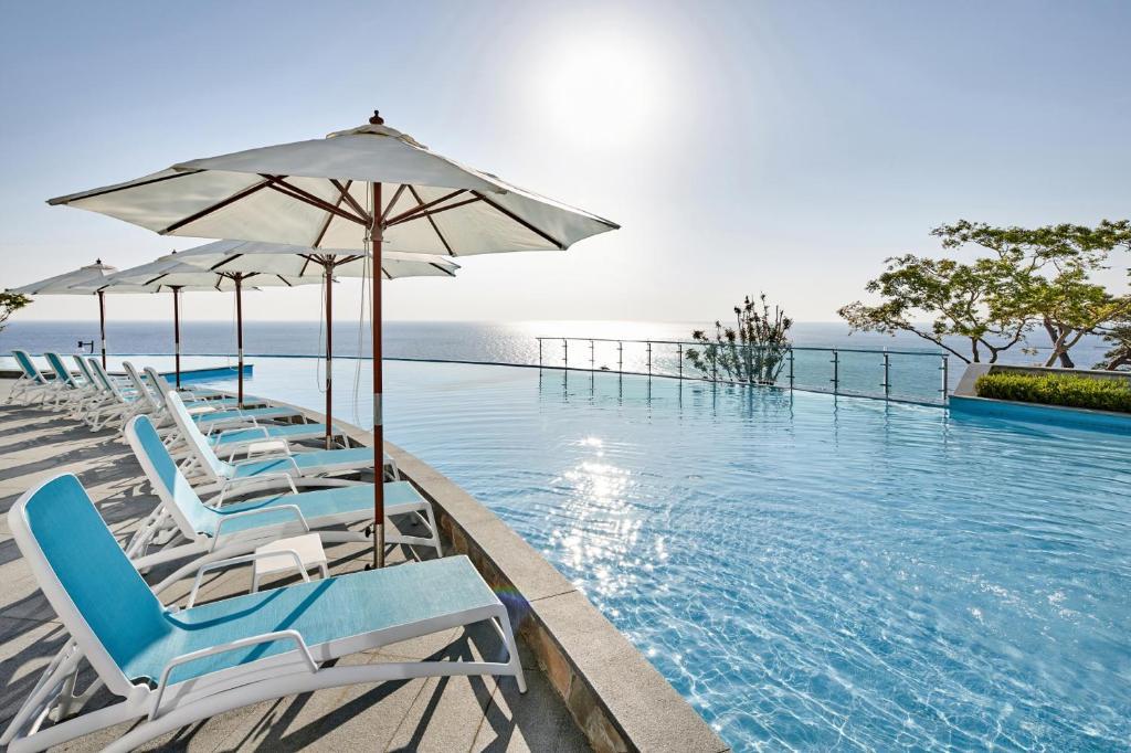 Piscine de l'établissement Lotte Resort Sokcho ou située à proximité