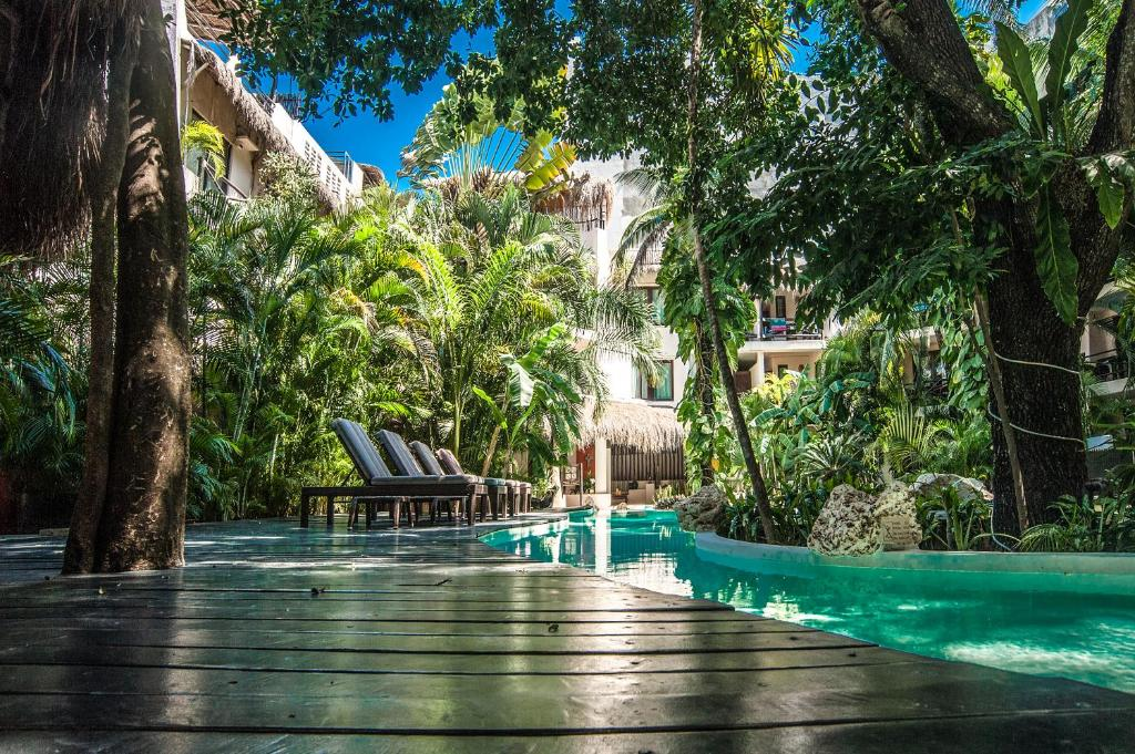 The swimming pool at or near La Tortuga Hotel & Spa - Adults Only