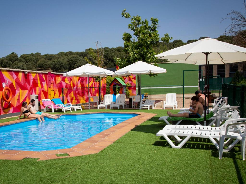 The swimming pool at or near Hotel Cadosa