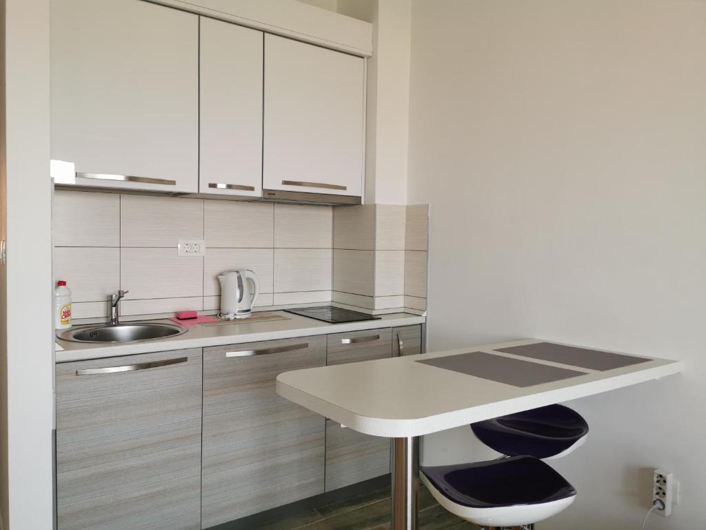 Kuhinja ili čajna kuhinja u objektu Apartments Four Seasons