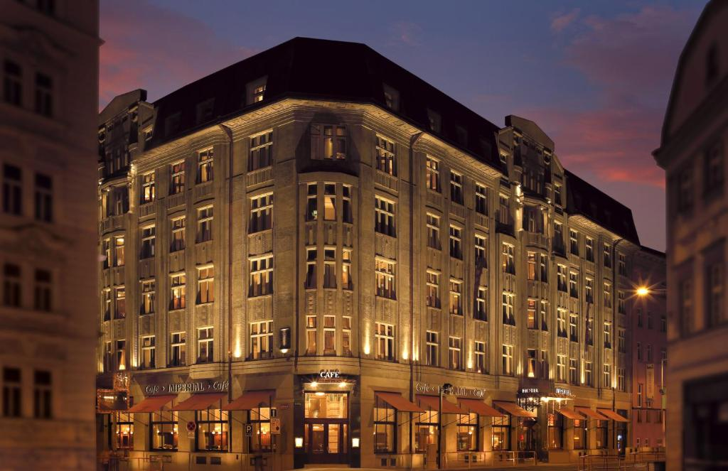 Art deco imperial hotel tschechien prag booking