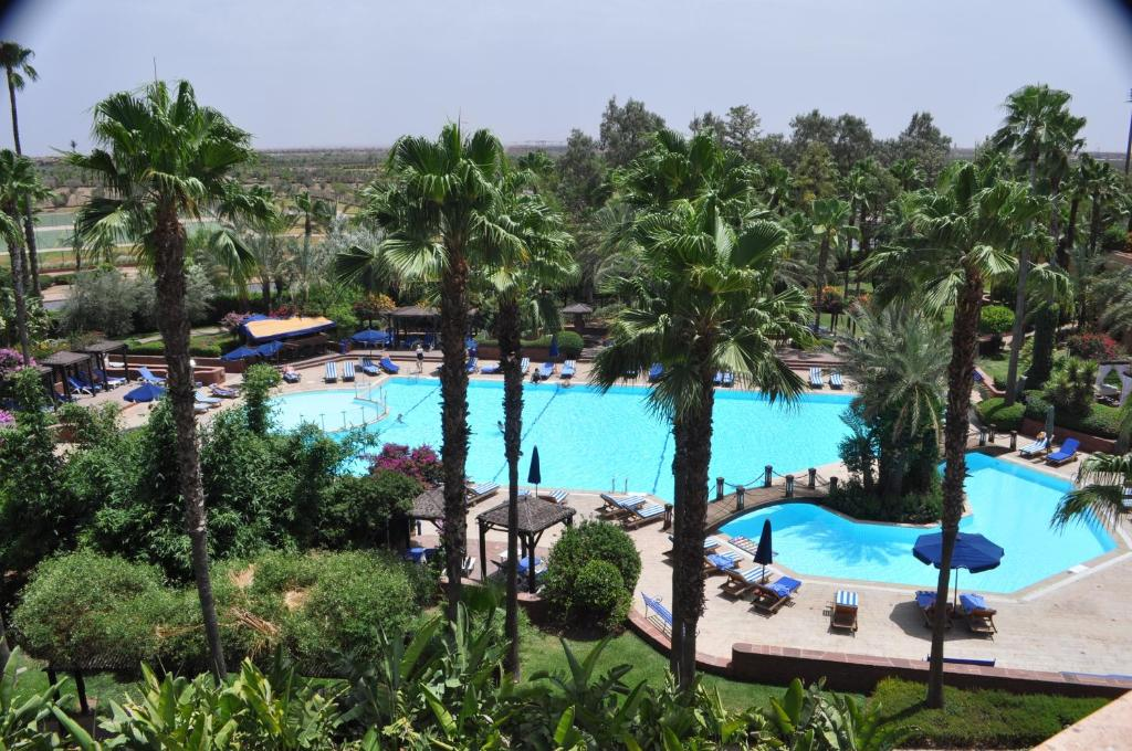 A view of the pool at Le Meridien N'fis or nearby