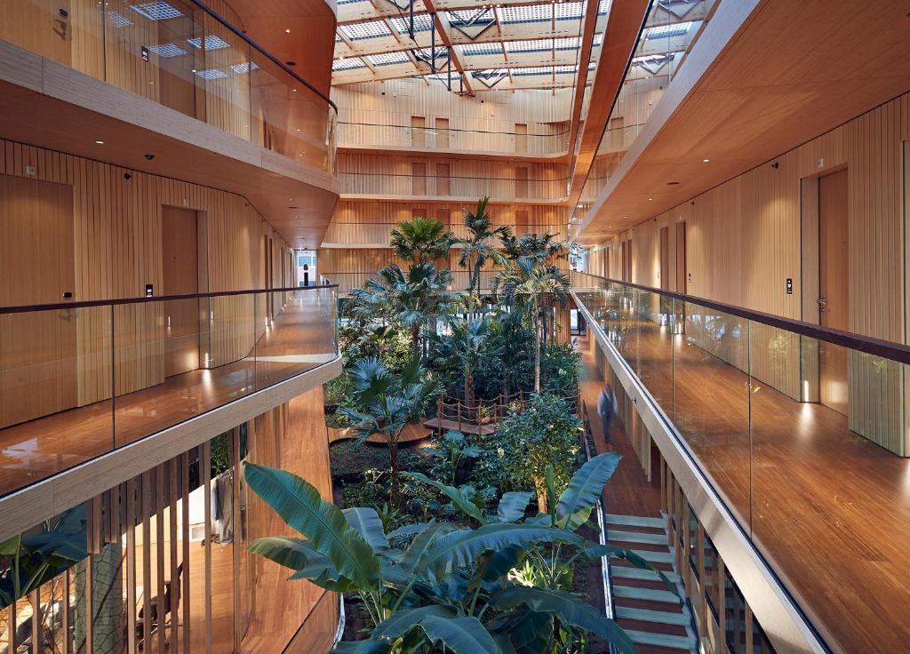 A balcony or terrace at Hotel Jakarta Amsterdam