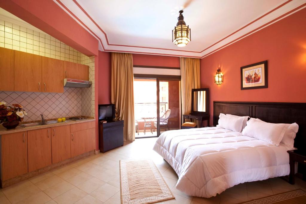 Mogador menzah appart h tel marrakech updated 2018 prices for Appart hotel jonzac