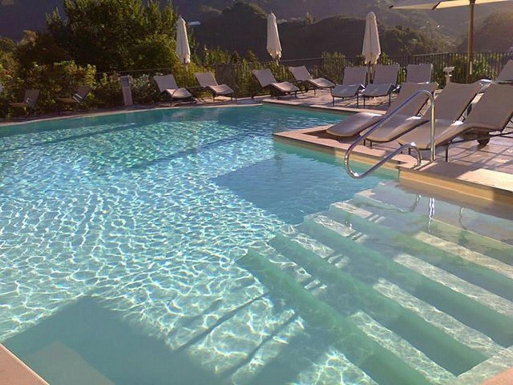 The swimming pool at or near Park Hotel Argento