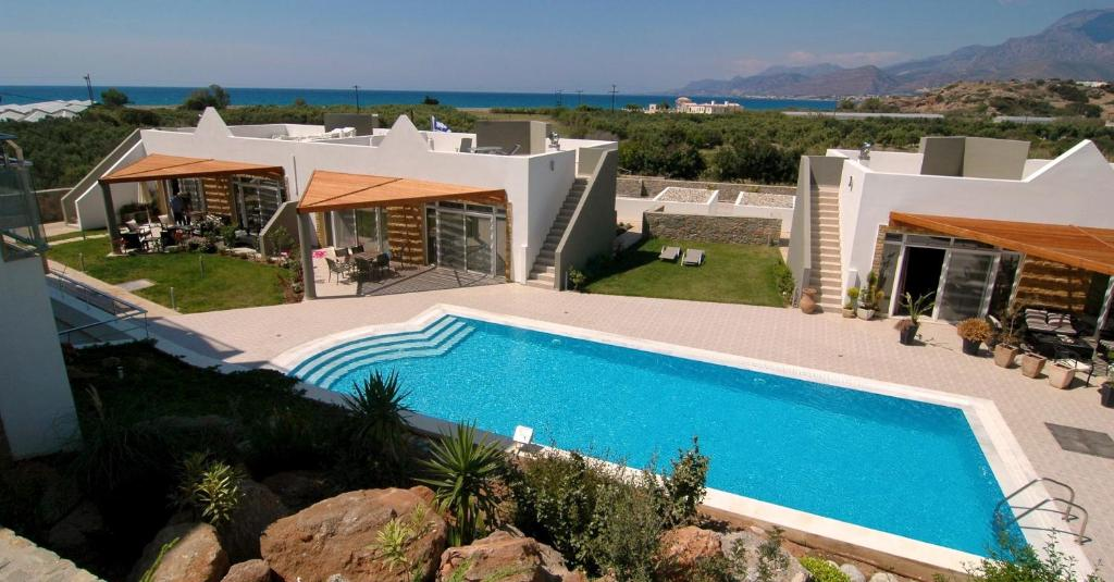 Bayview Resort Crete, Makry Gialos, Greece - Booking.com 20 Tolle Swimmingpool Designs Geometrisch