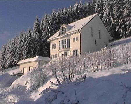 Ferienwohnung Haus Waldesruh im Winter