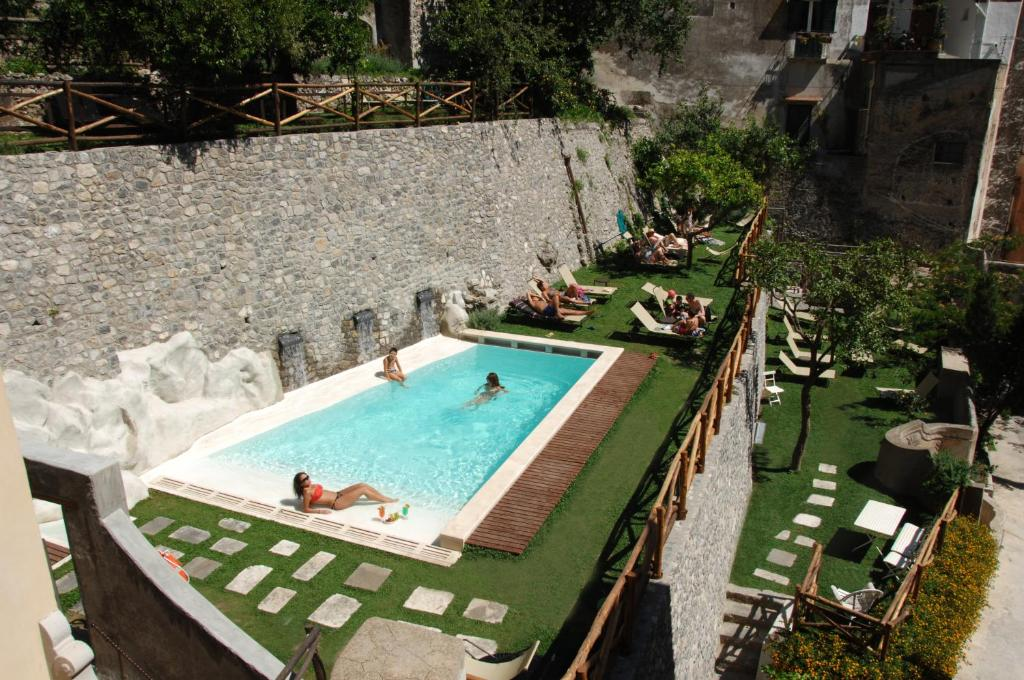 A view of the pool at Amalfi Holiday Resort or nearby