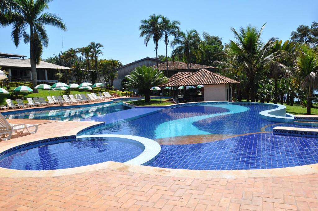 The swimming pool at or near Hotel Berro D´Agua