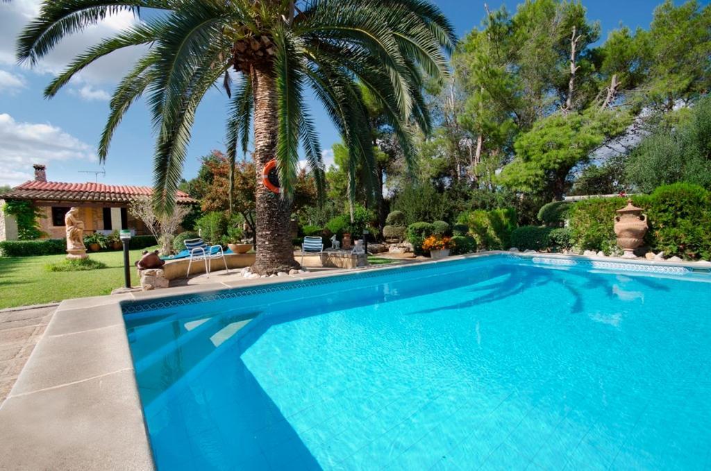 The swimming pool at or near Villa Francisco