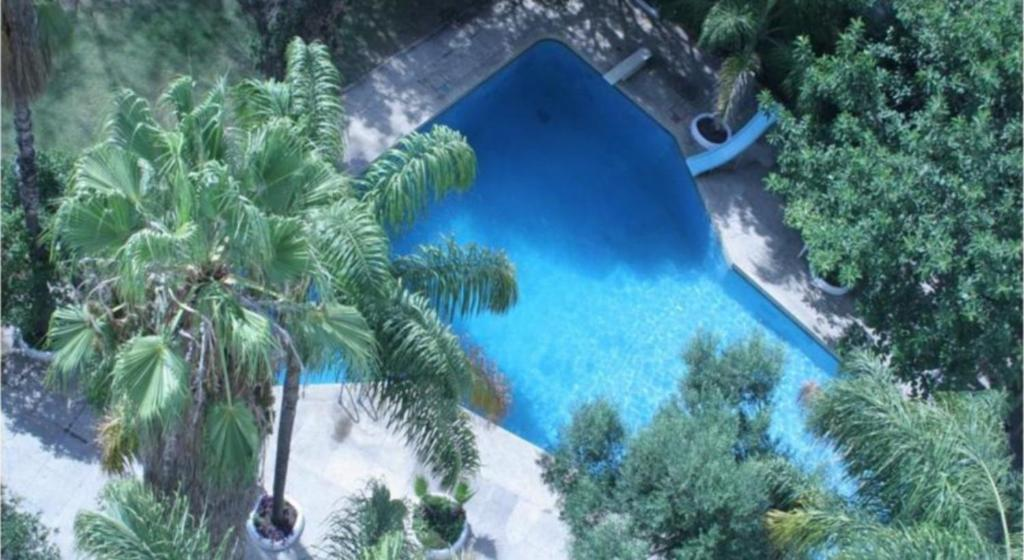 A view of the pool at Hotel Chellah or nearby