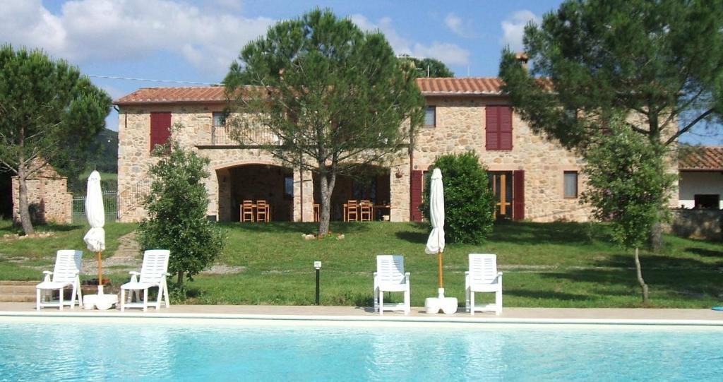 Bazén v ubytování Casetta Francini nebo v jeho okolí