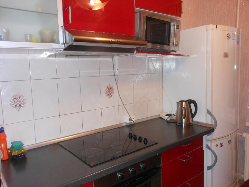 A kitchen or kitchenette at Apartaments LiS 2