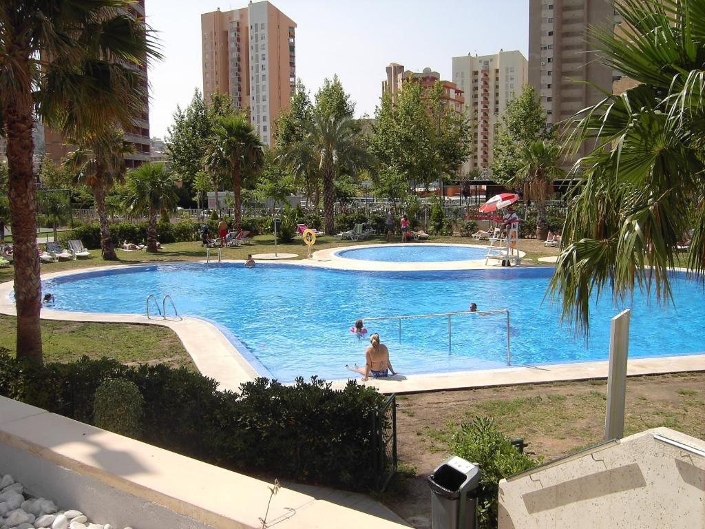 The swimming pool at or near Torre D'Oboe Apartamentos