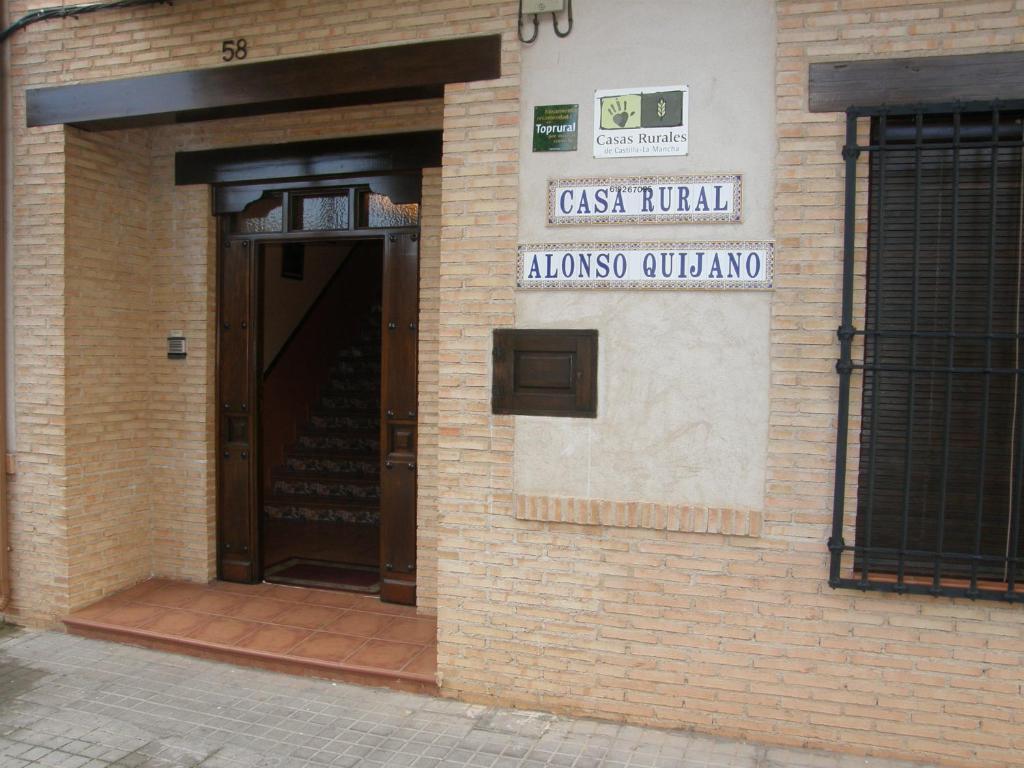 Hotel cerca : Casa Rural Alonso Quijano