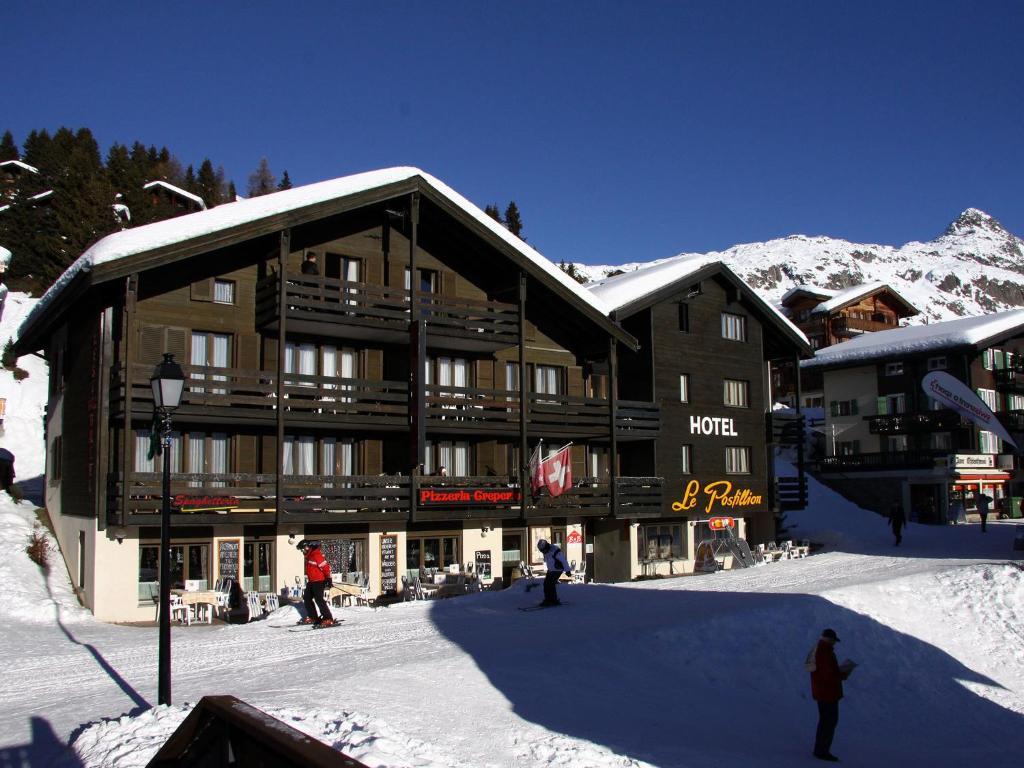 Hotel Le Postillion im Winter