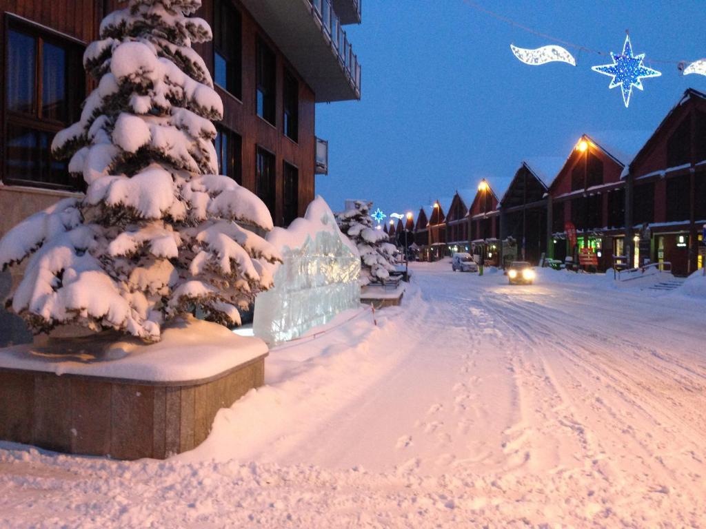 Το Hotel Cristallo τον χειμώνα