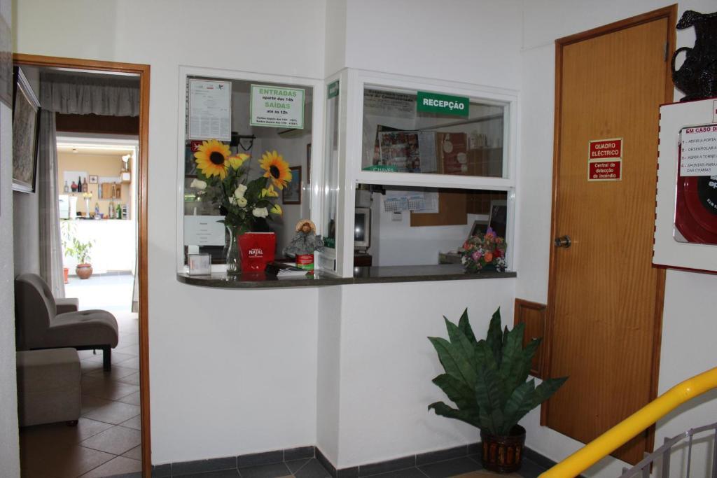 The lobby or reception area at Dom Fernando I
