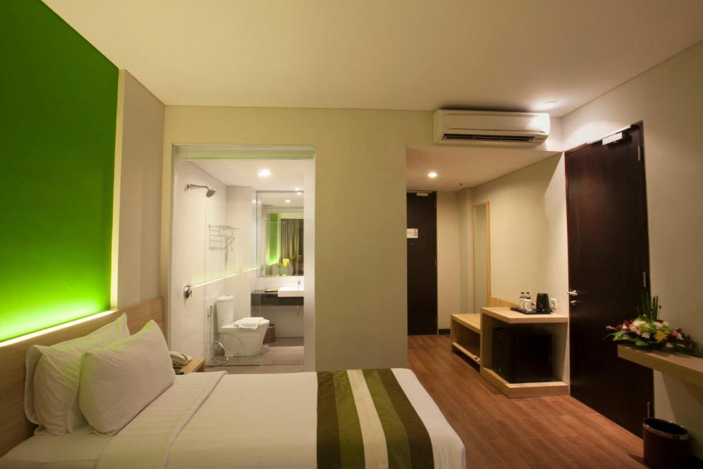 Grand Whiz Hotel Nusa Dua Bali(グランド ウィズ ホテル ヌサ ドゥア バリ)の部屋